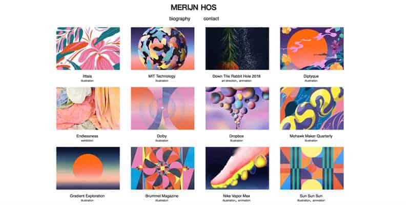 Merijnhos-showcase